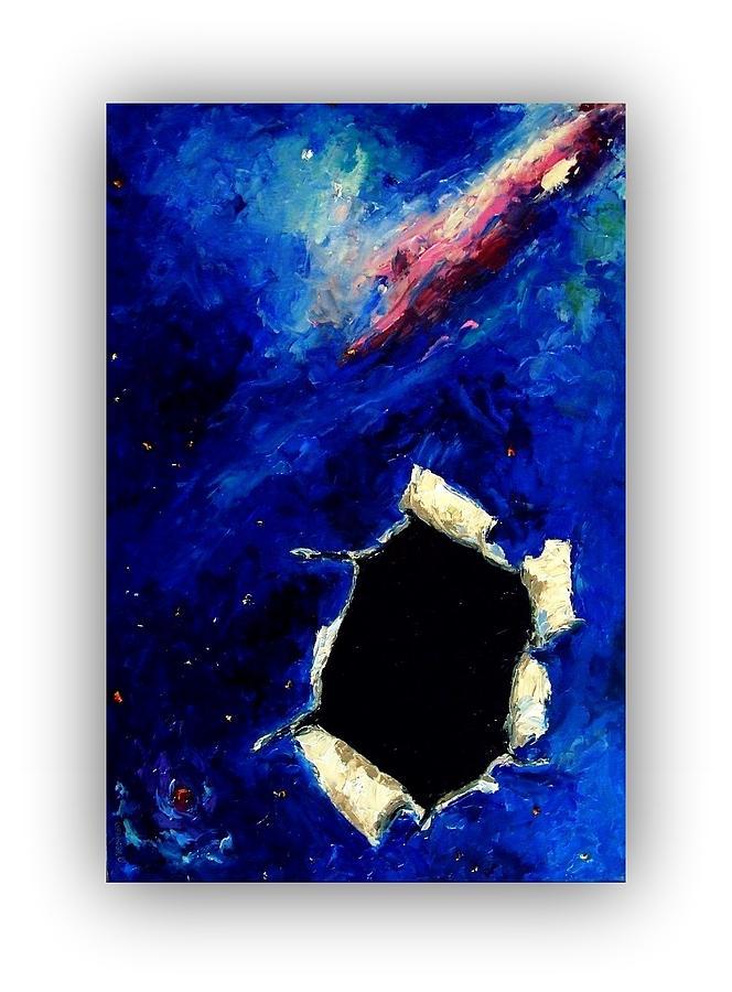 black hole painting - photo #32
