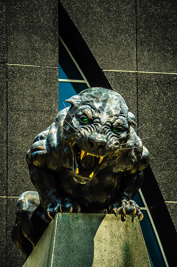Black Panther Statue is a photograph by Alexandr Grichenko which was ...