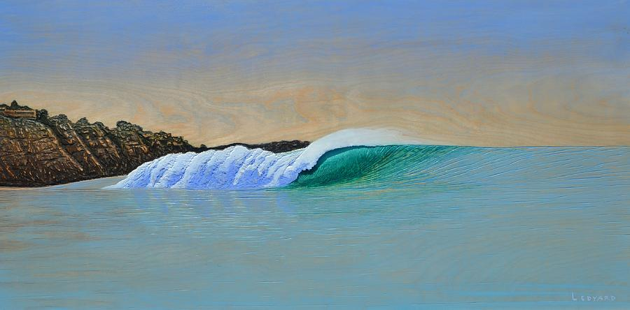 Seascape. Wave Painting - Blacks by Nathan Ledyard