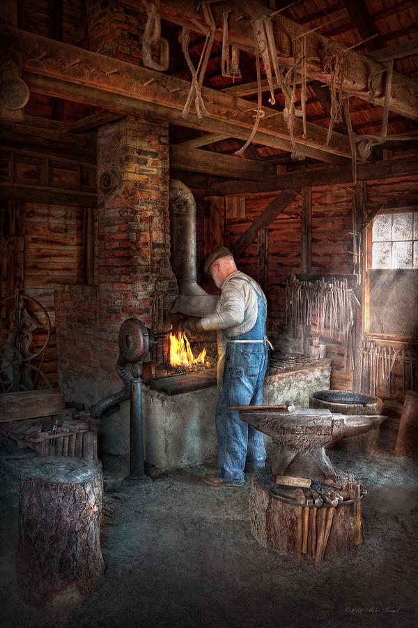 Blacksmith - The Importance Of The Blacksmith Photograph