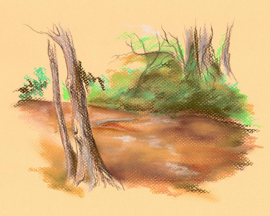Blackwater Creek Pastel