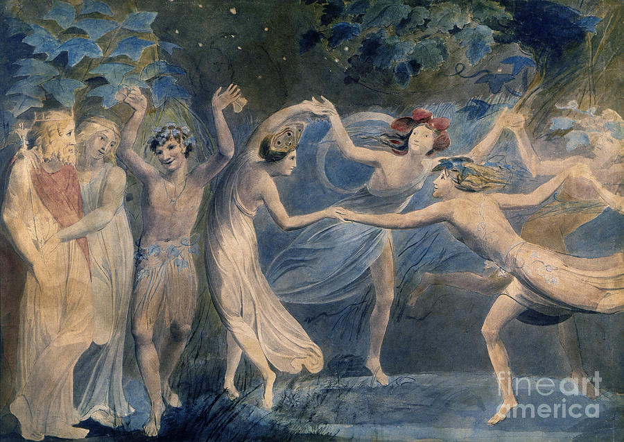 Blake - Fairies C1786 Painting