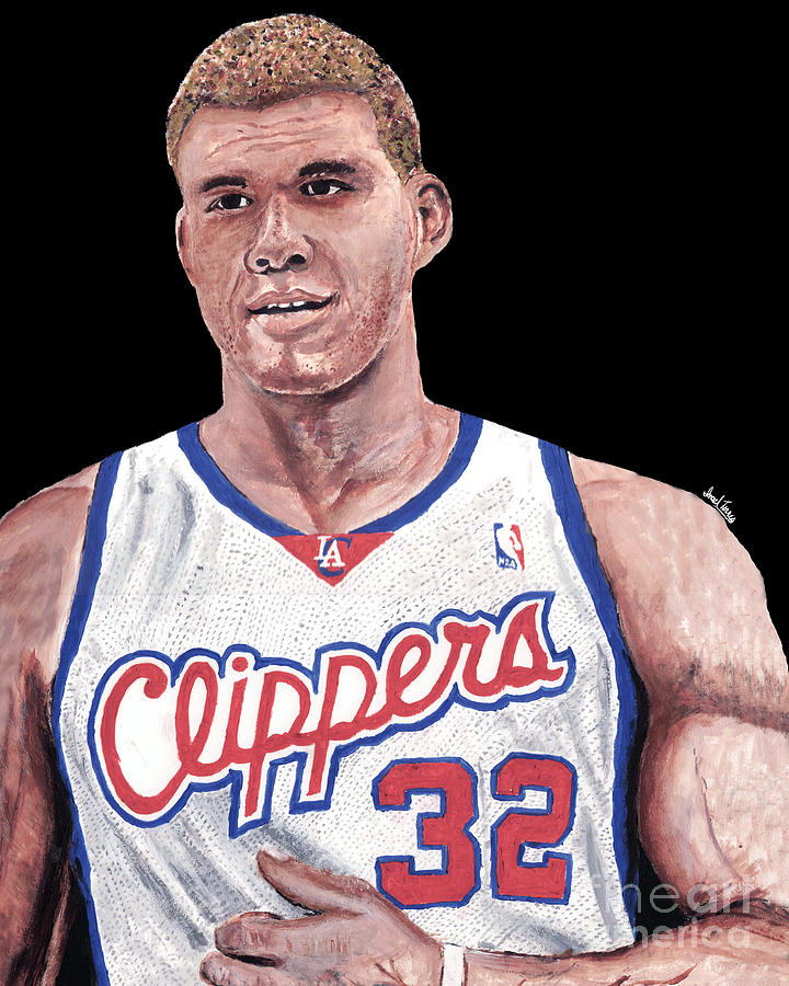 Blake Griffin Painting