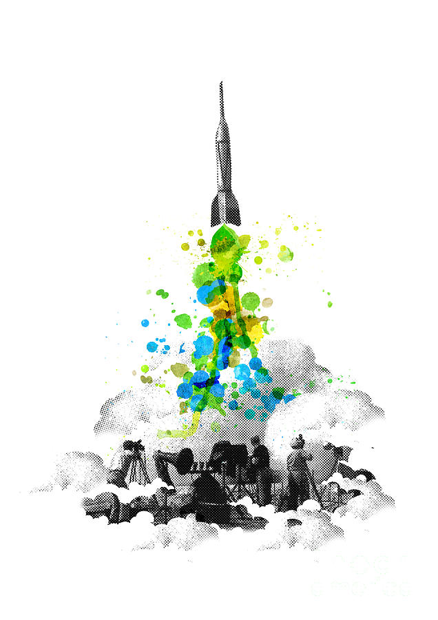 Blast Off Digital Art