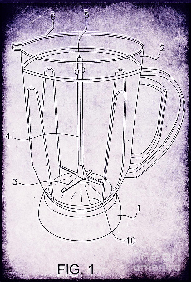 Blender Patent Photograph