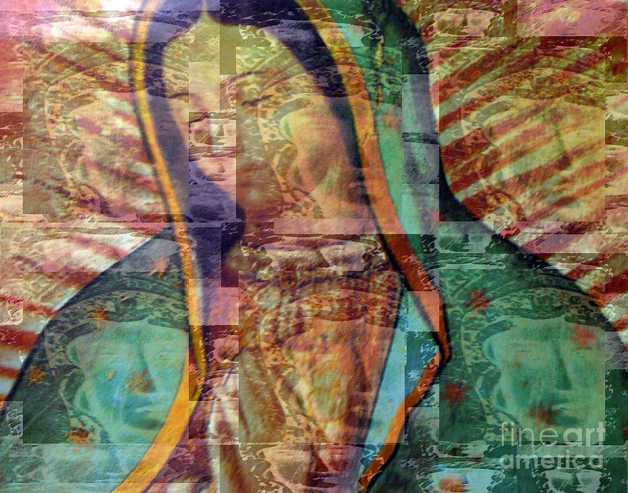 Blessed Mother Photograph - Blessed Lady by Patricia Januszkiewicz