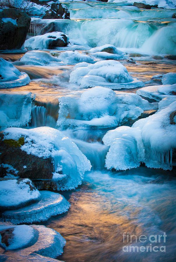 America Photograph - Blewett Pass Creek by Inge Johnsson