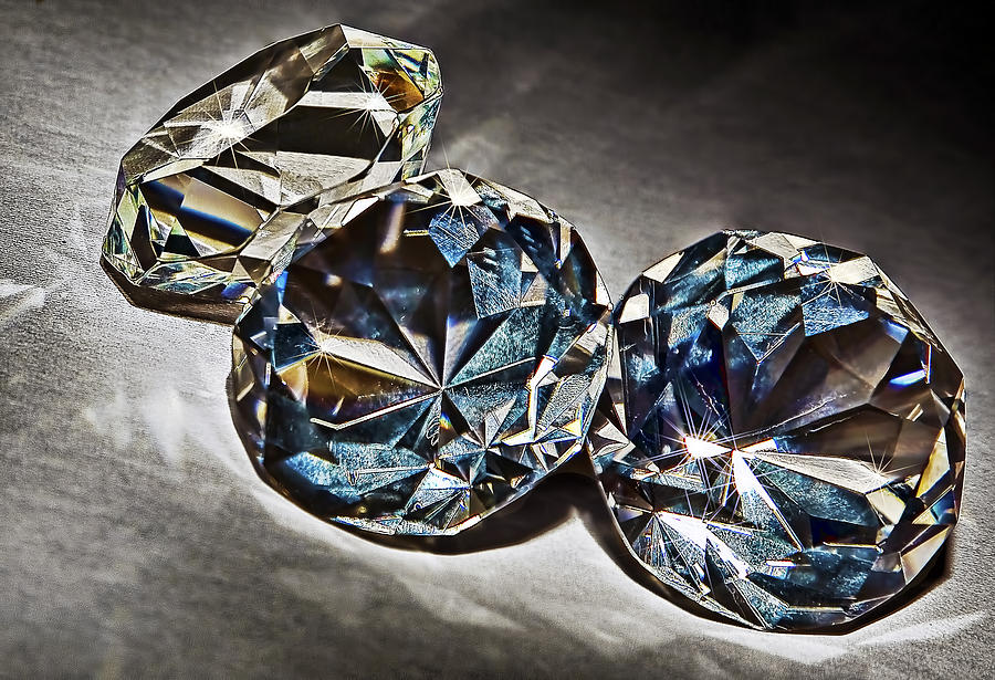Still Photograph - Bling by Marcia Colelli