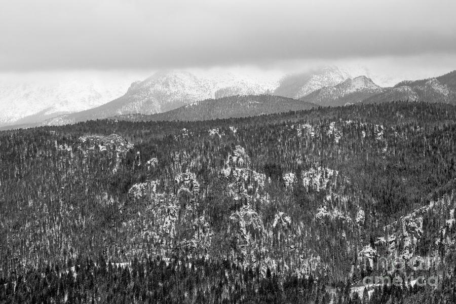 Blizzard On Pikes Peak Photograph