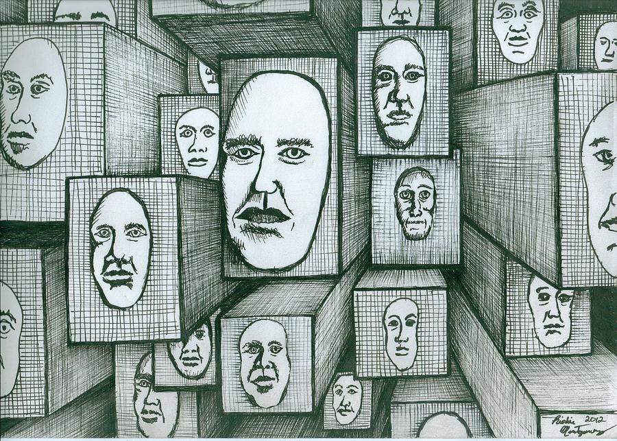 Block Head Painting