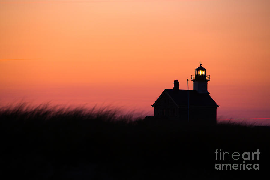 Lighthouse Photograph - Block Island North Lighthouse by Diane Diederich