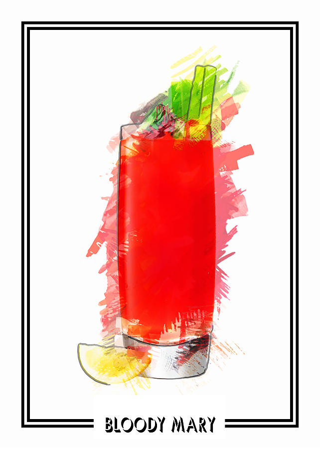 bloody mary drink clipart - photo #17