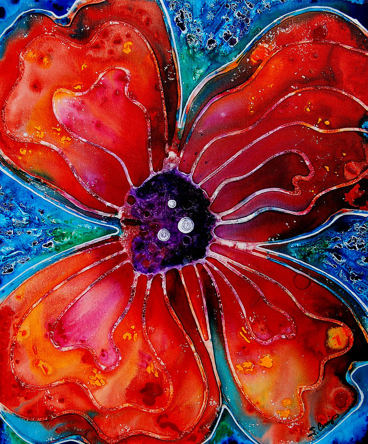 Bloom Painting  - Bloom Fine Art Print