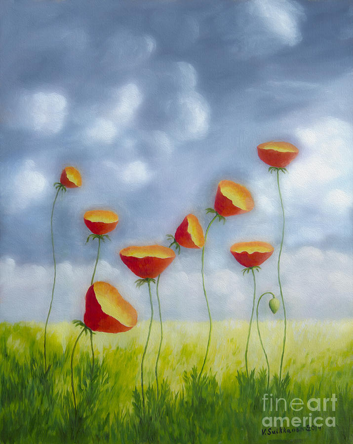 Blooming Summer Painting