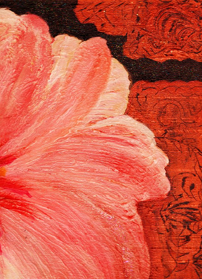 Blossom Emerging Painting