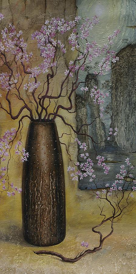 Still Life Painting - Blossom by Vrindavan Das