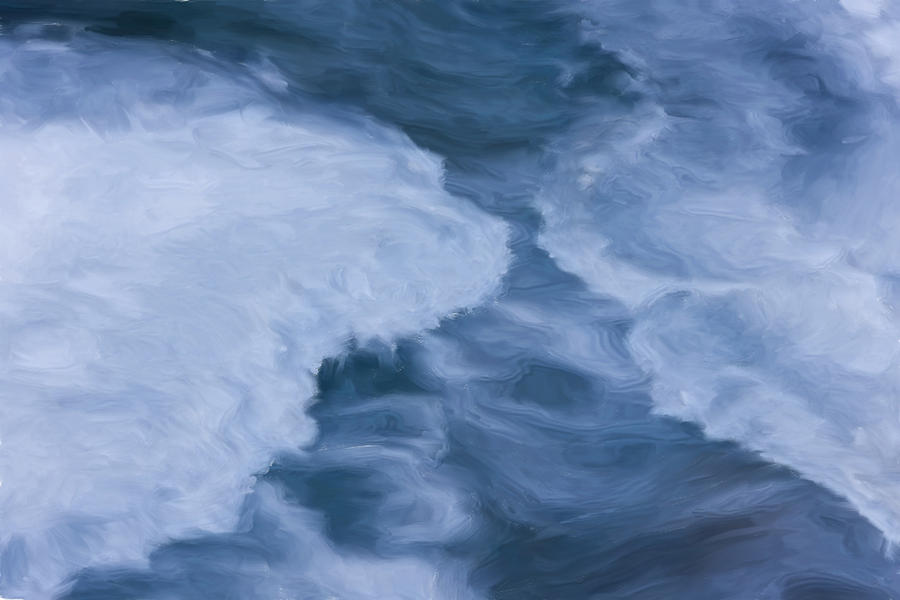 Blue Painting - Blue 3                              by Jack Zulli