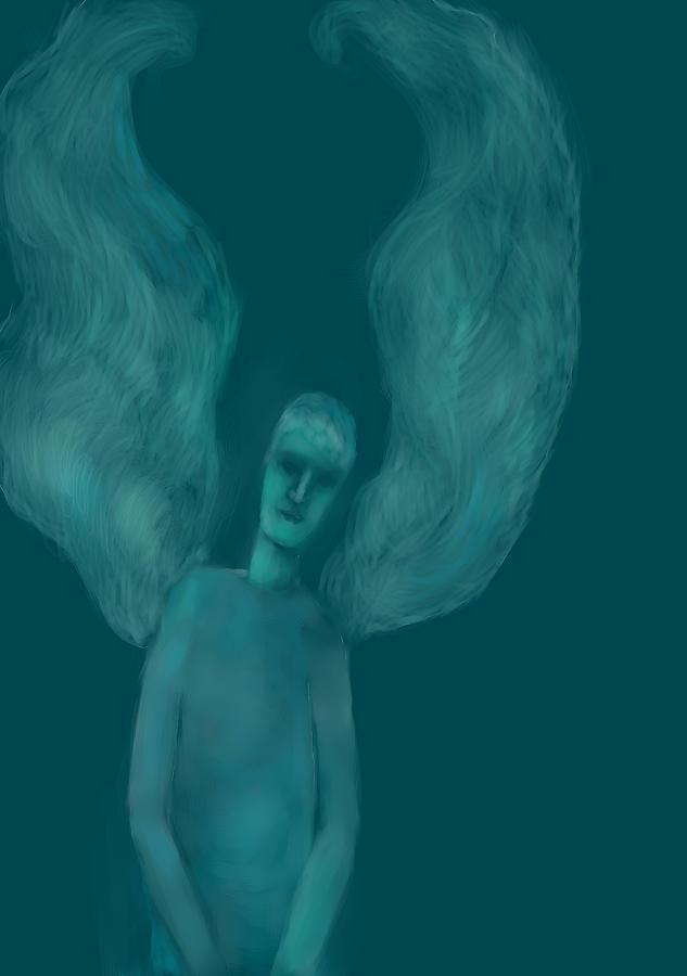 Blue Angel Drawing