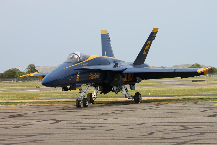 Blue Angels Before The Show Photograph