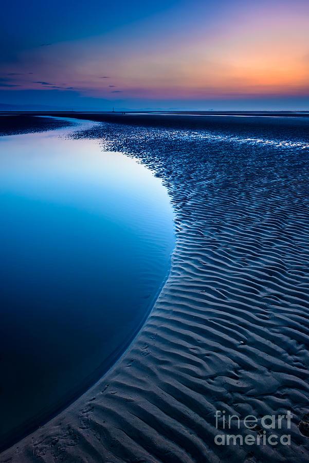 Bay Photograph - Blue Beach  by Adrian Evans