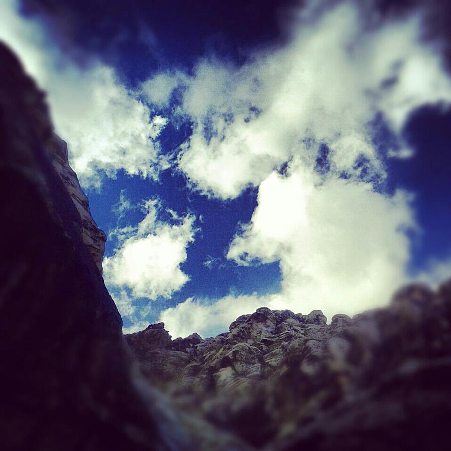 Blue Desert Sky Photograph