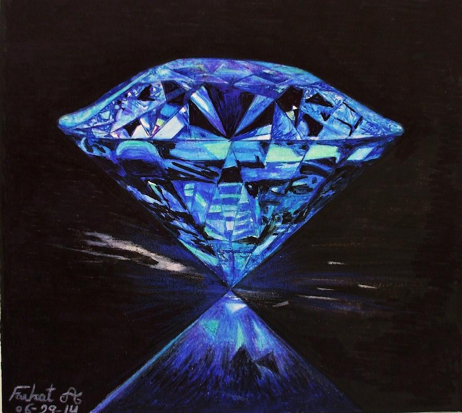 Blue Diamond Drawing Related Keywords - Blue Diamond ...