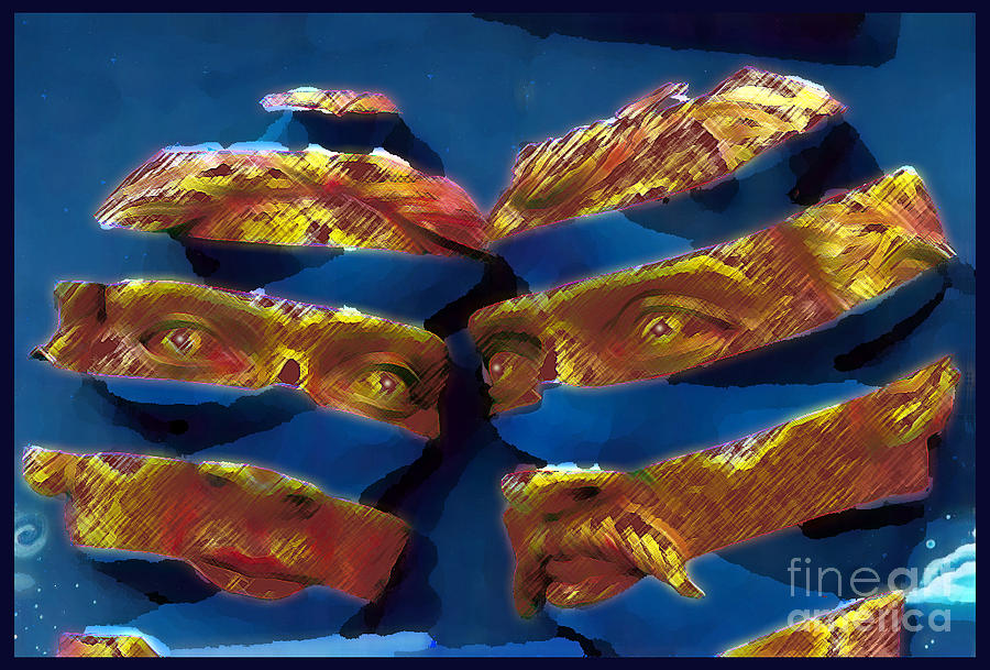 Blue In The Face Photograph  - Blue In The Face Fine Art Print