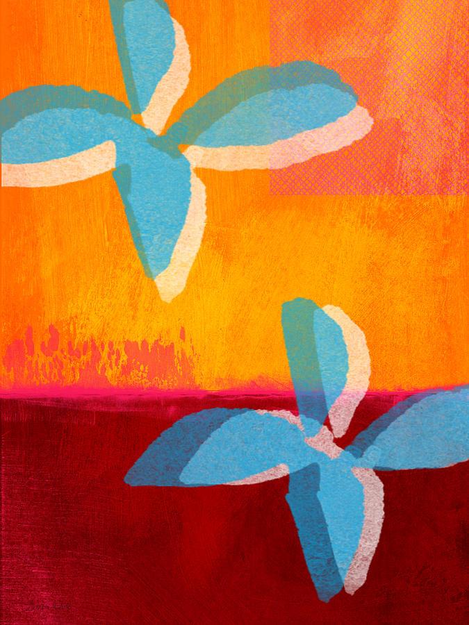 Blue Jasmine Painting