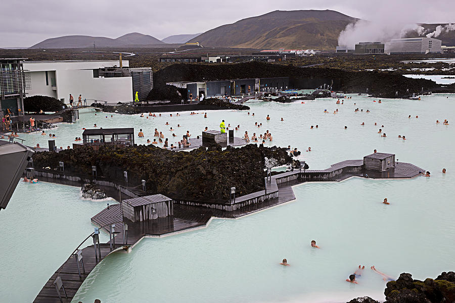 Blue Lagoon Photograph
