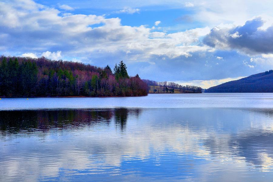 Blue Lake Photograph  - Blue Lake Fine Art Print