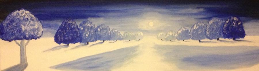 Blue Lends It A Hue Painting