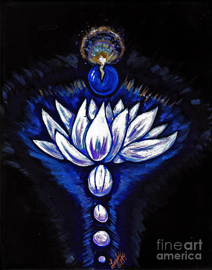 Blue Pearl Painting - Blue Pearl by Lorah Buchanan
