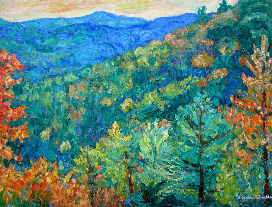 Blue Ridge Autumn Painting