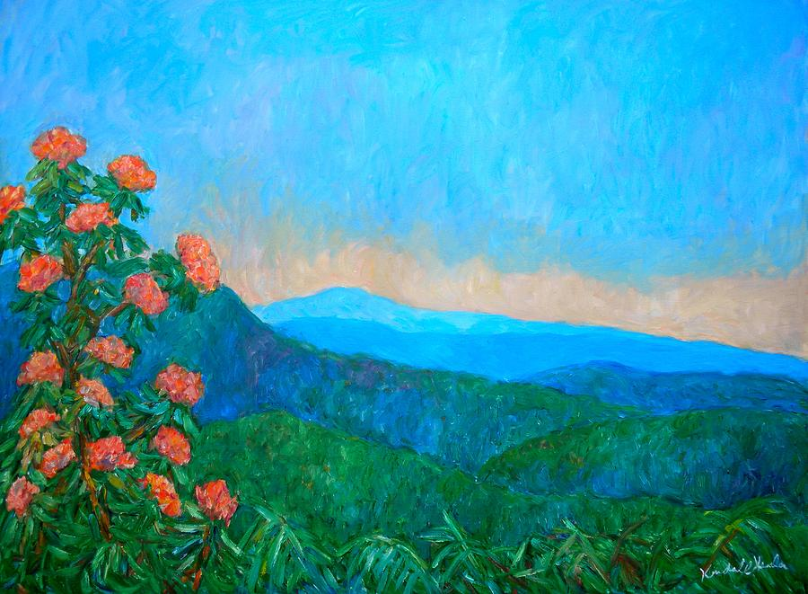 Blue Ridge Morning Painting