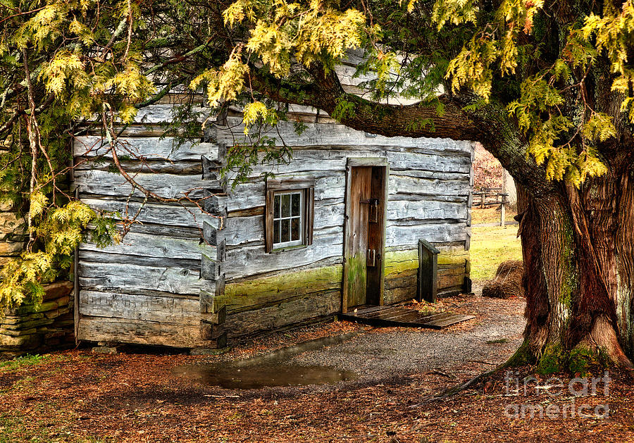 Blue Ridge Parkway - Mabry Mill Building In The Rain Photograph  - Blue Ridge Parkway - Mabry Mill Building In The Rain Fine Art Print