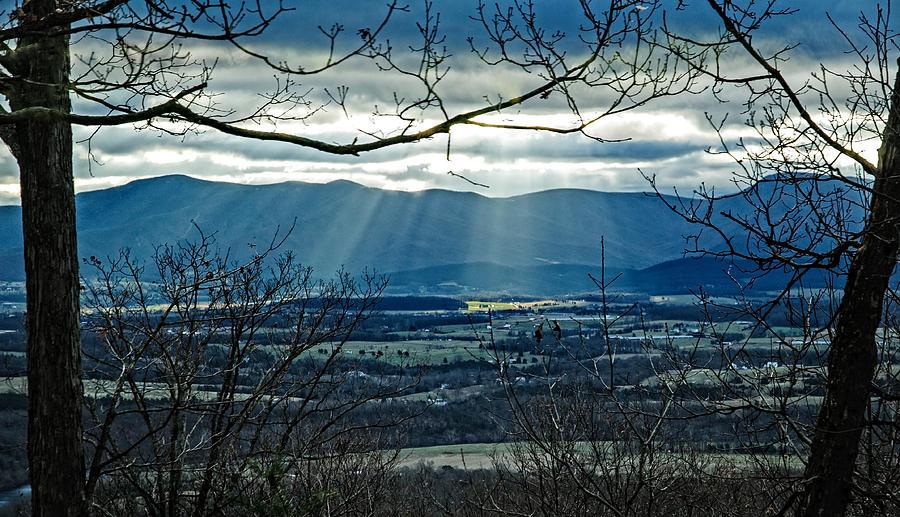 Blue Ridge Winter Solstice 2012 Photograph