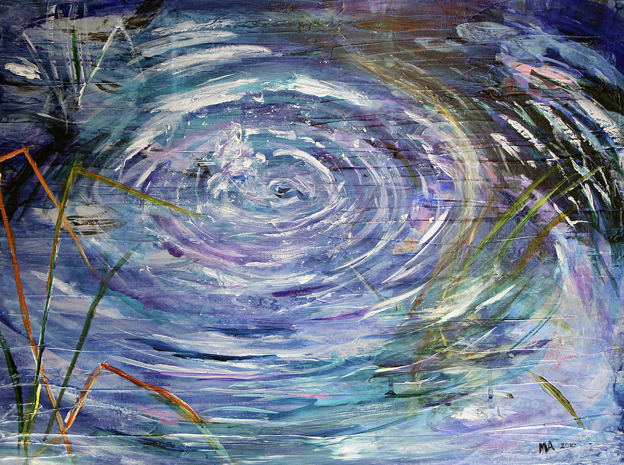 The gallery for --> Water Ripples Painting
