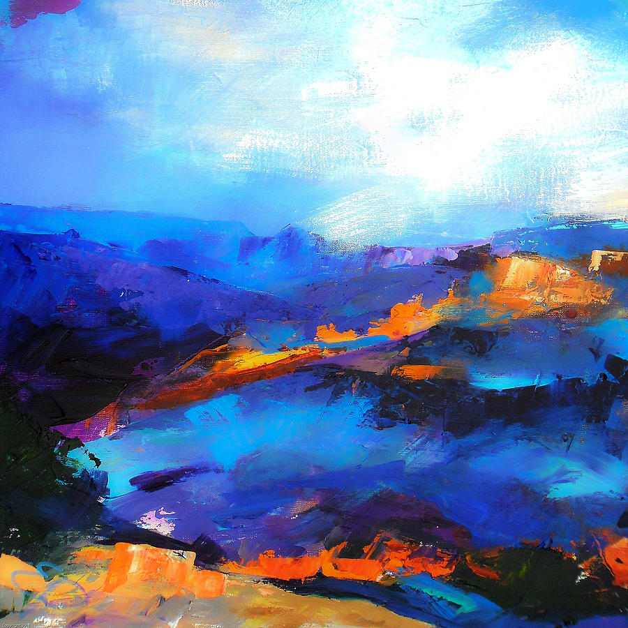 Blue Shades Painting