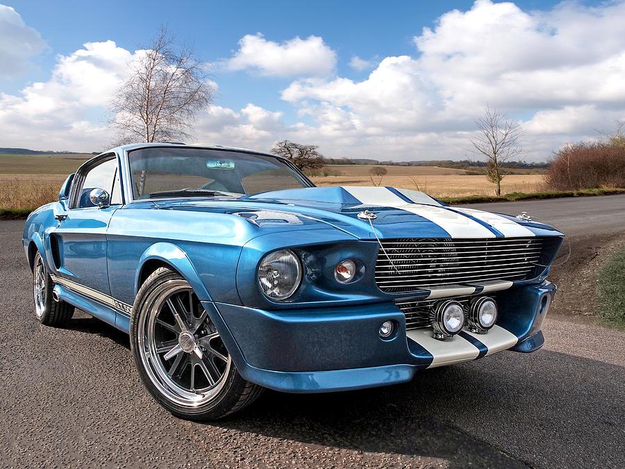 1967 Ford Mustang Gt 500 Hot Girls Wallpaper