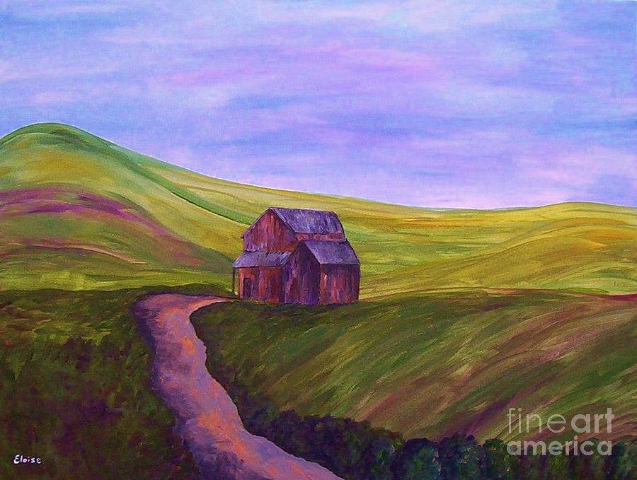 Blue Skies In The Hill Country Painting