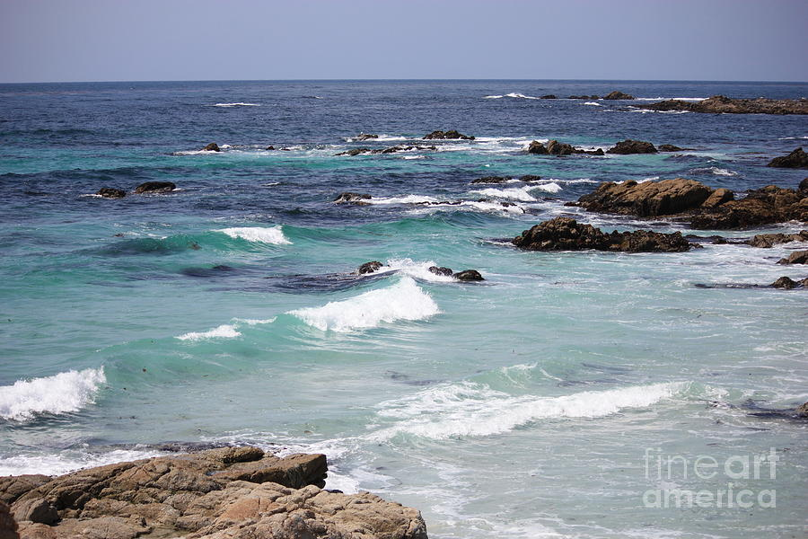 Blue Surf Photograph  - Blue Surf Fine Art Print