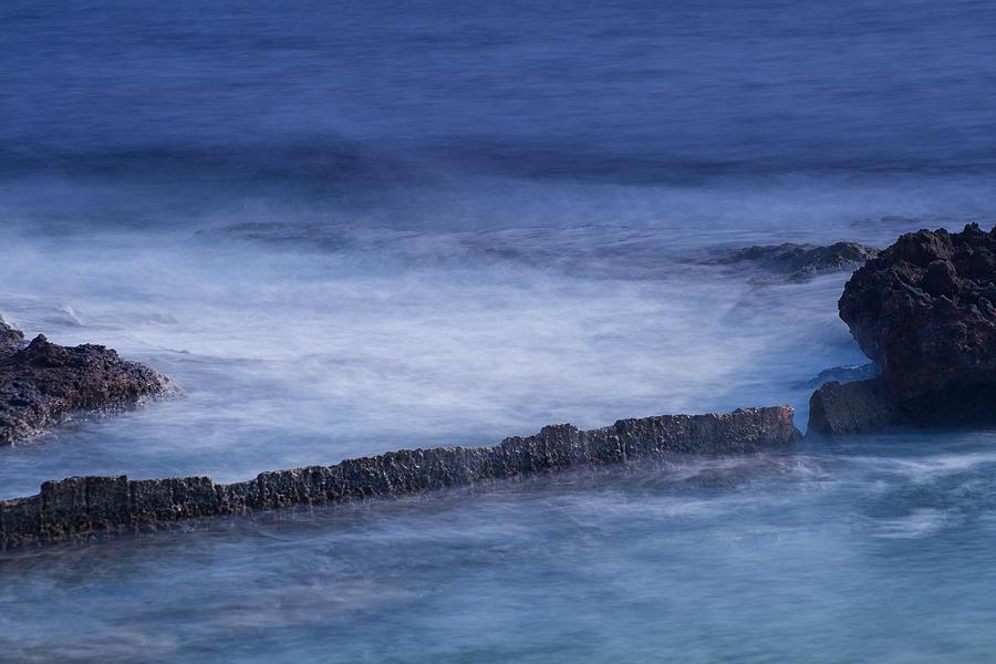 Blue Photograph - Blue Symphony by Herbert Seiffert