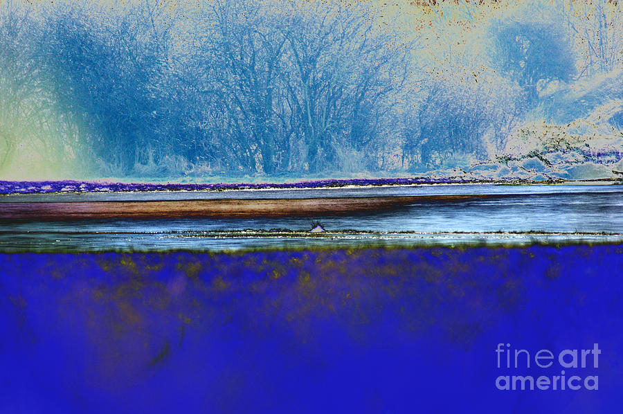 Blue Water Digital Art
