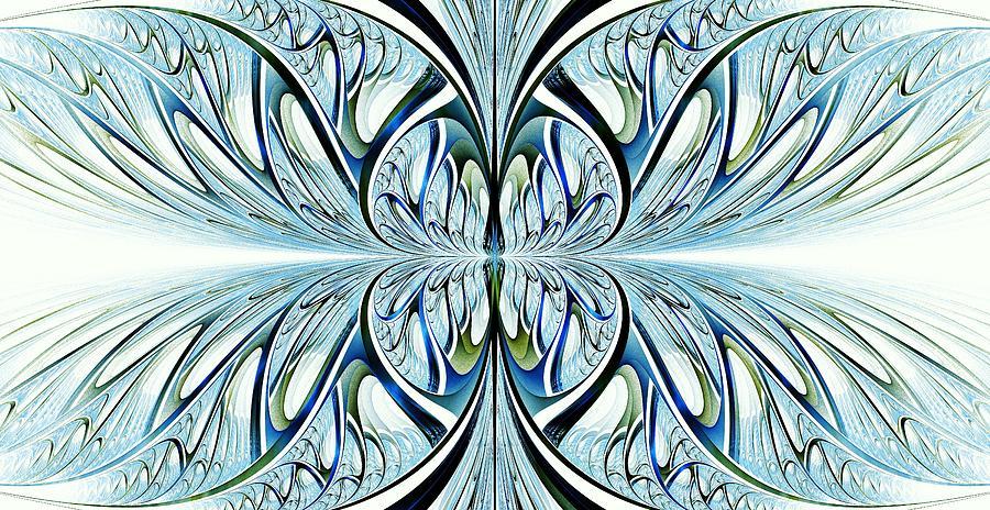 Blue Wings Digital Art