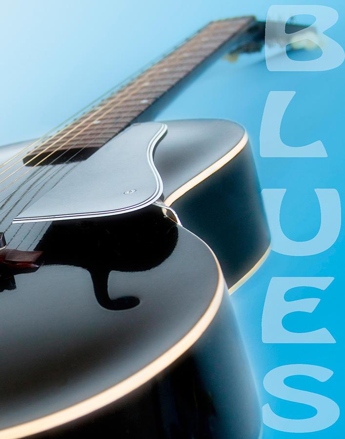 Guitar Photograph - Blues Guitar by David and Carol Kelly