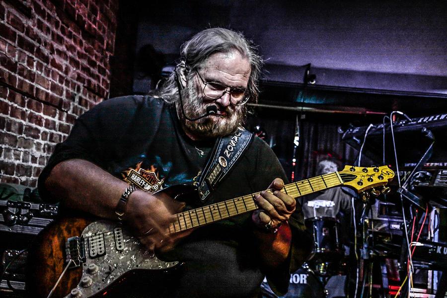 Blues Photograph - Bluesman by Ray Congrove