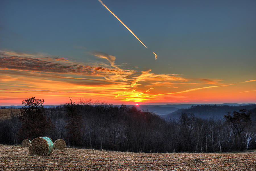 Bluff Country Sunrise Photograph by Brook Burling