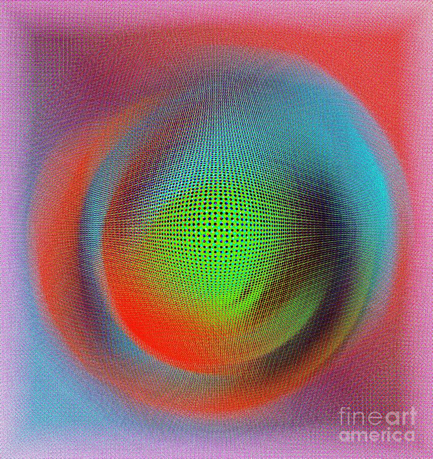 Abstract Digital Art - Blur by Iris Gelbart