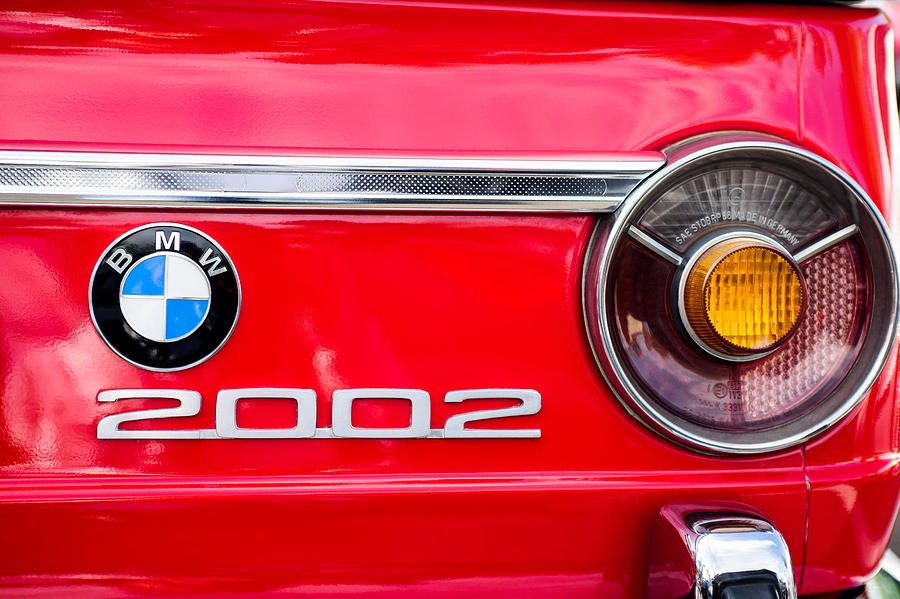 Bmw 2002 Taillight Emblem Photograph