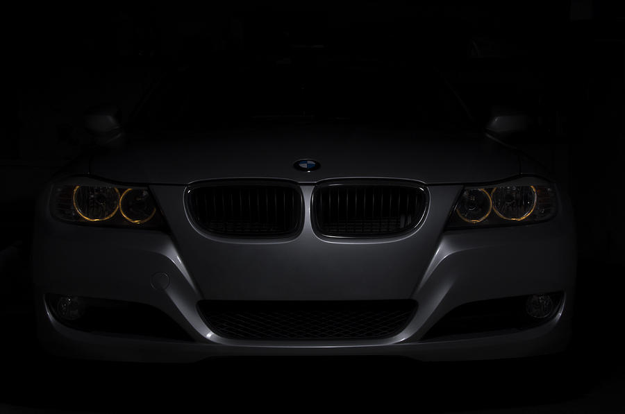 Bmw Car In Black Background is a photograph by Paulo Goncalves which ...